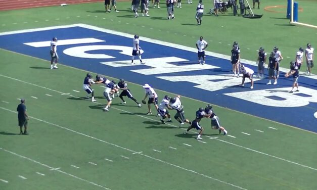 2 on 2 Drill for Punt Coverage- Washburn University
