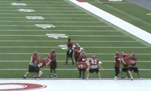 4i Run Fit Drill vs Tight Zone- Henderson State University (AR)