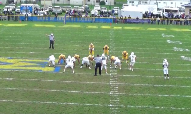 Buck Sweep Concept (Unbalanced Formations)- Middletown Area High School (PA)