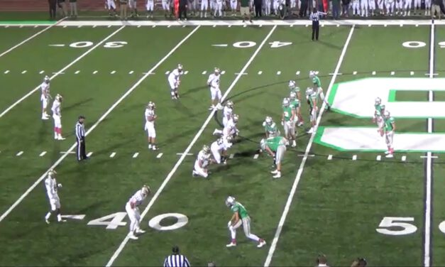 Buck Sweep (tight formation)- Dublin Scioto High School (OH)