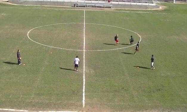 DB Match drill- Fowler HS