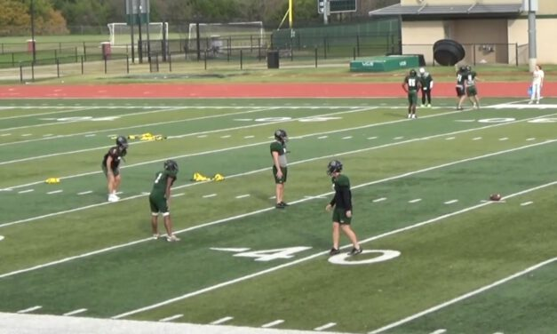 Invert Coverage Drill- North Harmon High School (OK)