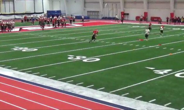 Kickoff Coverage Drills- Saginaw Valley State University (MI)
