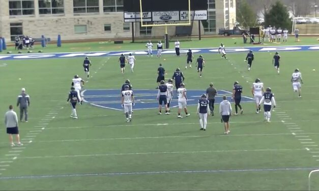 Net Drill for Punt Coverage- Washburn University