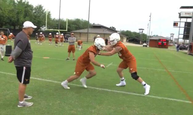OL- Long Arm Defeat Drill- University of Texas
