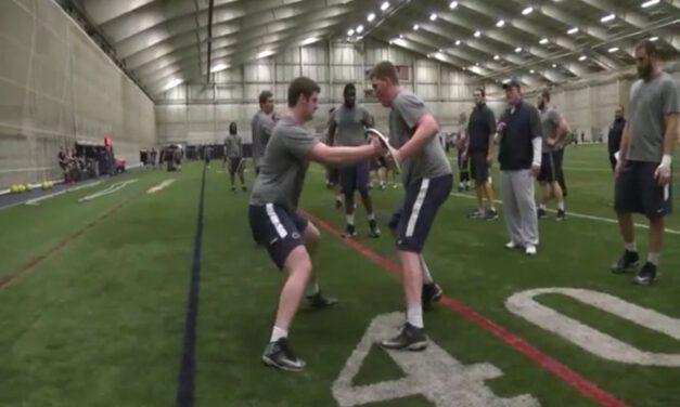 Penn State Oline Drills