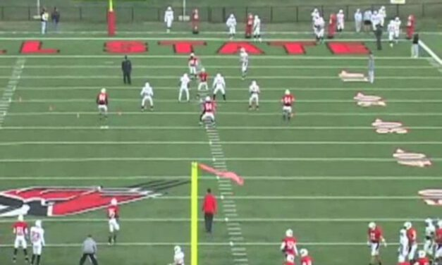 Punt Coverage Net Drill- Ball State University