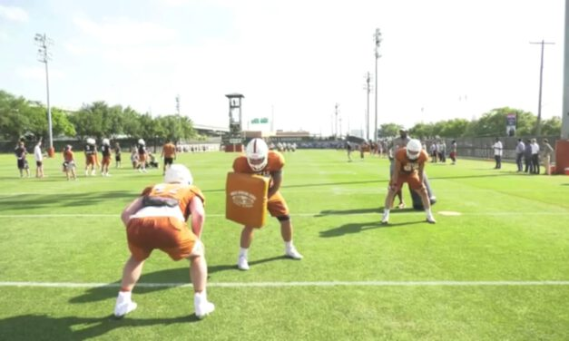 TE C Gap Sift Drill from Detached Position- University of Texas