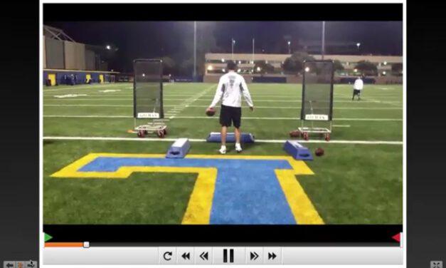 UCLA QB Drills