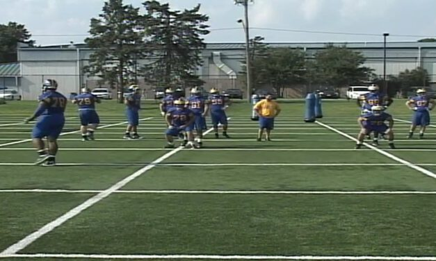 University of Delaware OL Run Drills