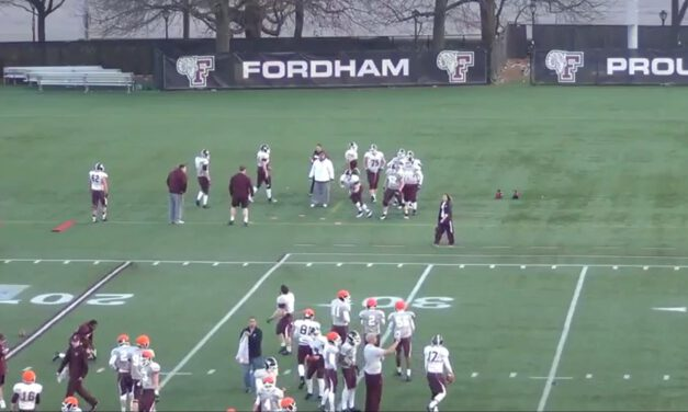 Sickle Pull Drill- Fordham University