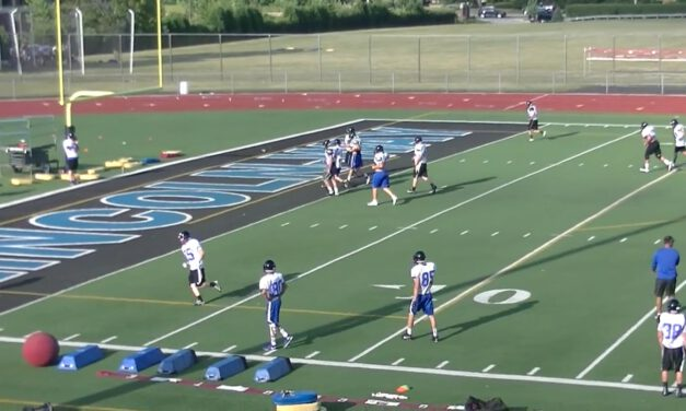Screen Drill- Lincoln Way East HS (IL)