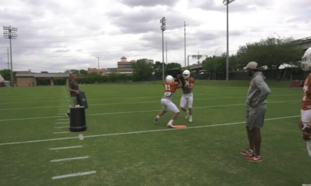 TE C Gap Cutoff Drill from Backside Position- University of Texas