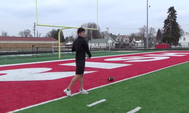 QB Throw Mechanics- Toledo Catholic HS (OH)