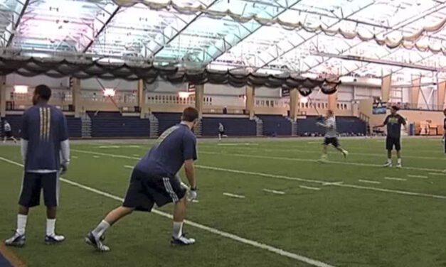 WR Gauntlet Catch- Akron