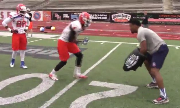WR Pin and Stack Drill (from press coverage)- Sam Houston State