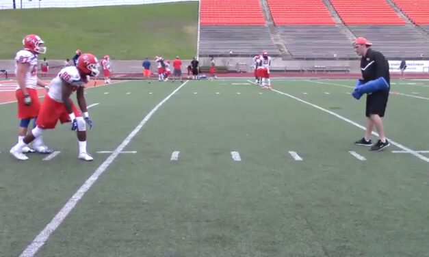 WR Pin and Stack Release Drill (off coverage)- Sam Houston State