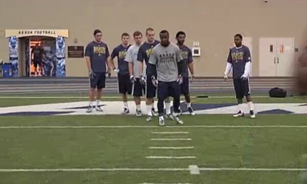 WR Stance and Start- Akron