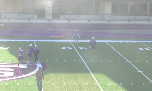 Zone Blitz Tech (Two Player Coverage vs 3×1)- University of St Thomas (MN)