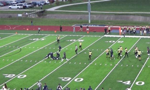 Cover 3 Match vs 2×1 Formations- Lincoln University (MO)