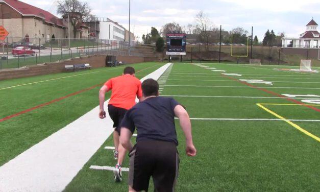 DB Jogging Wedge Drill- Carroll University