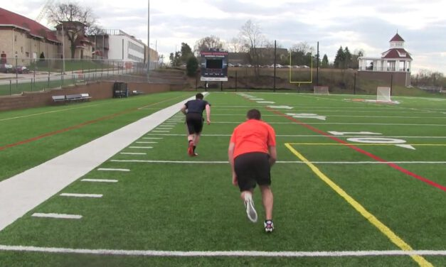 DB Race to Hip Drill- Caroll University