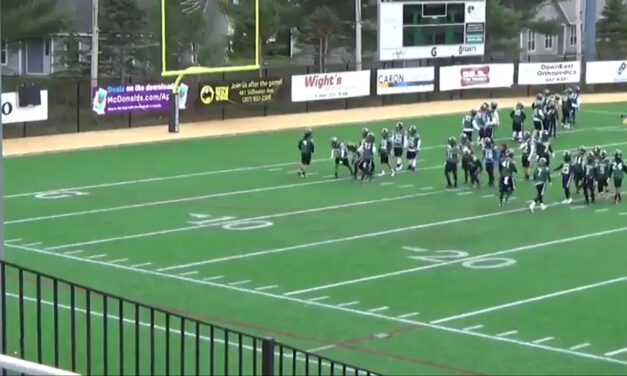 DB Read the Hands Downfield Drill- Husson University (ME)