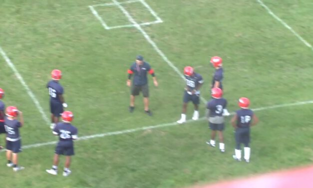 DB Shuffle Punch Drill- Utica College (NY)