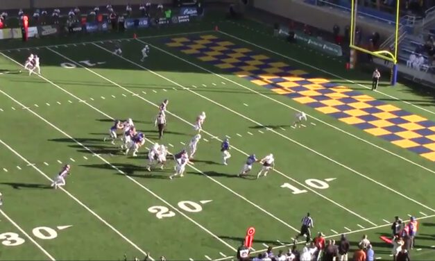 Empty QB Counter RPO Concept- South Dakota State University