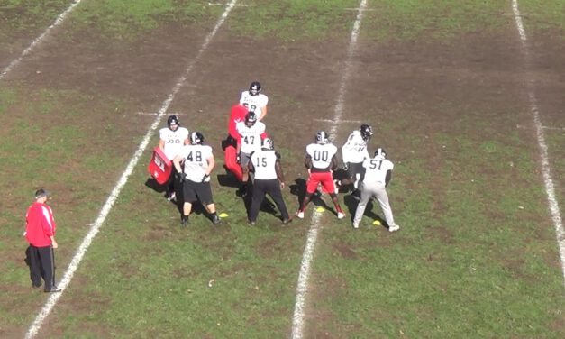 Gap Pods Drill (vs Even Front)- Rahway High School (NJ)