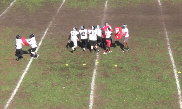 Gap Pods Drill (vs Odd Front)- Rahway High School (NJ)