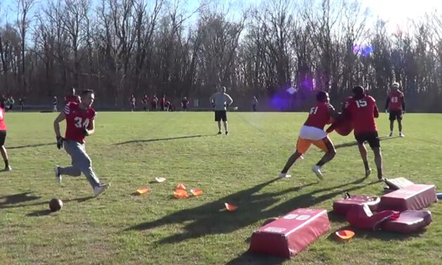 LB Blitz Tech Drill- Bridgewater College (VA)