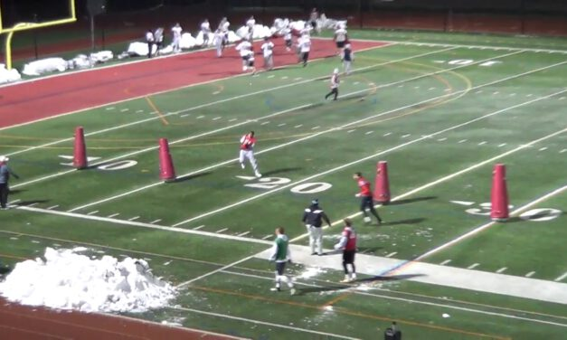 LB Interception Drill- Bridgewater College (VA)
