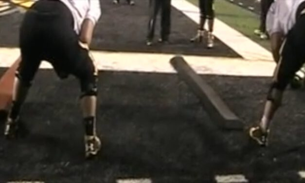 Mid Zone Board Footwork (Tight Shade)- Towson University