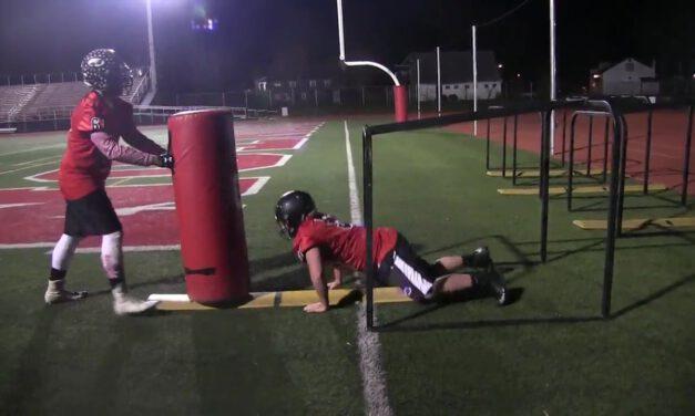 OL 6pt Punch Drill- Boonton HS (NJ)