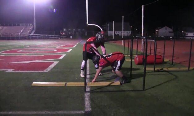 OL Hand Pressure Drill (for Veer Release)- Boonton HS (NJ)