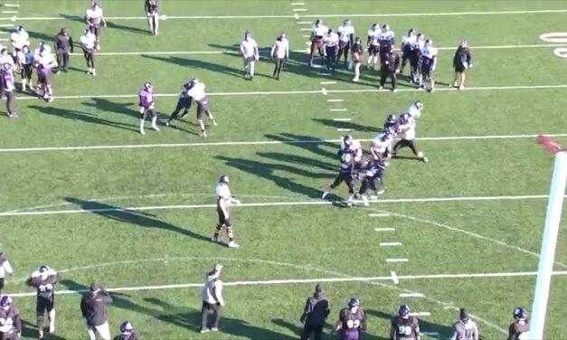 Pin and Pull Half Line Drill (vs Even)- Northwestern University