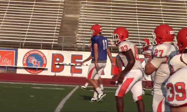 QB 3-Quick Footwork Progression- Sam Houston State