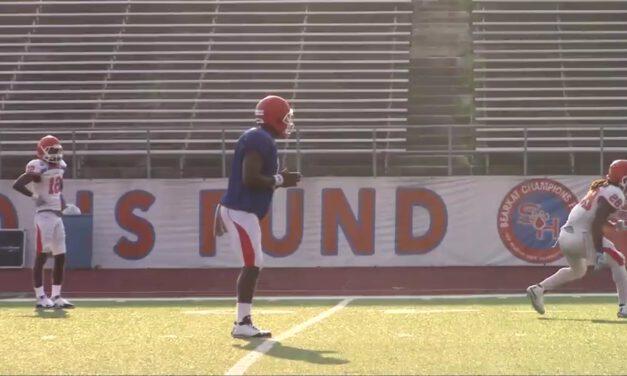 QB 3-Step Footwork Progression- Sam Houston State