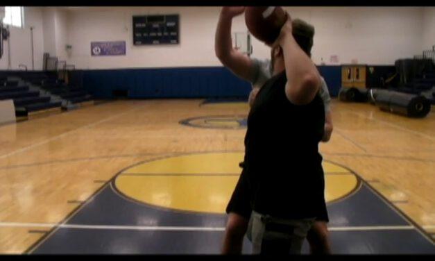 QB Ball Disruption Drills- Wayne Central High School (NY)