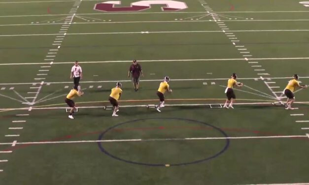 QB Footwork Drill- Springfield College (MA)