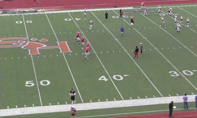QB Ghost Drill- Sam Houston State