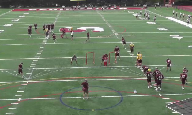QB Pitch Drill- Springfield College (MA)