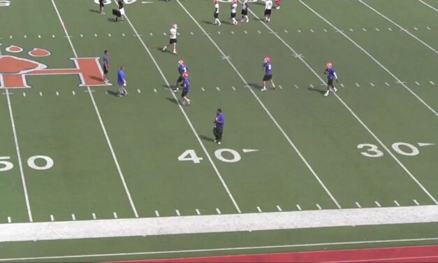 QB Reload Drill- Sam Houston State