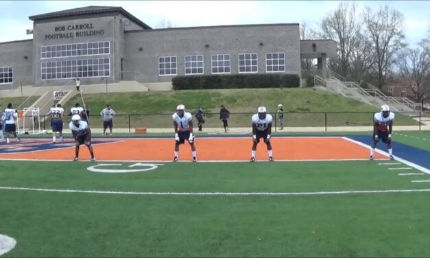 RB Ball Security Drills- UT Martin