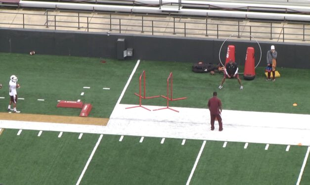 RB JUMP STOP ARCH DRILL- Davidson University