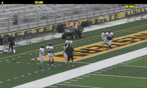 RB Open Balance Square Drill- Missouri Western
