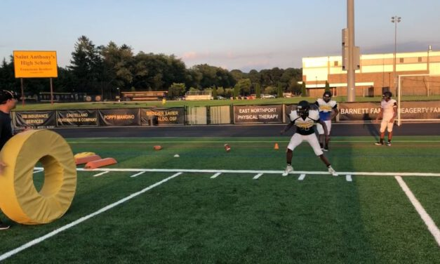 RB Pass Pro (with Tackle Ring)- St Anthony High School (NY)