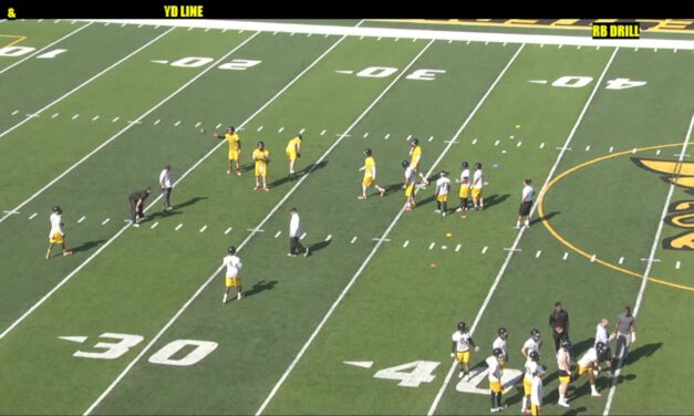 RB Routes on Air Drill- Missouri Western