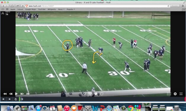 Roy Concept RPO Drill (narrated)- St Anselm University